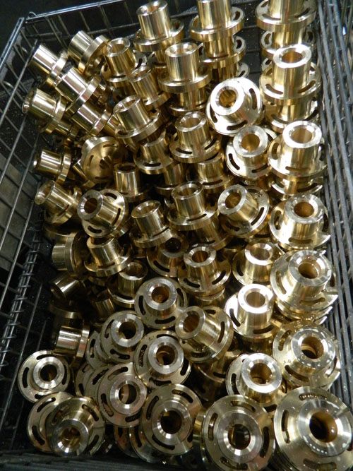 逸加梯形螺母铜螺母